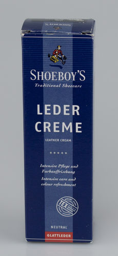 Shoeboys 9076 LEDER CREME Tube dunkelblau 75 ml