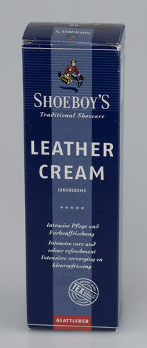 Shoeboys 9076 LEDER CREME Tube dunkelbraun 75 ml