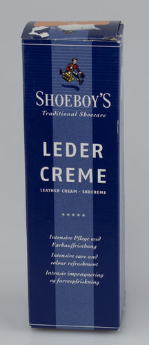 Shoeboys 9076 LEDER CREME Tube orange 75 ml