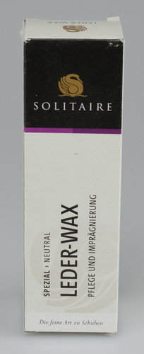 Solitaire 5374 LEDER WAX Tube neutral 75 ml