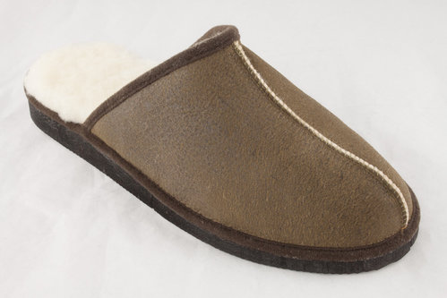 Feralex 104 KUSCHEL Slipper smoke
