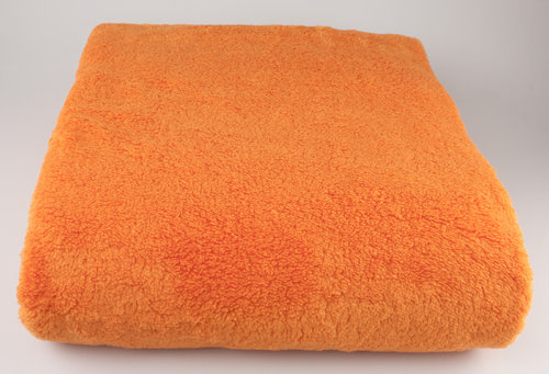 Excellence KD-592 KUSCHELDECKE orange 155/200