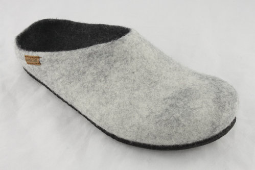 magicfelt AN 709-4814 Pantoffel light grey