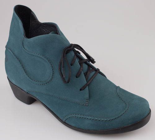 Loints 42513-0180 OPERA H Schnürboot turquoise