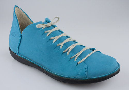 Loints 68066-0219 NATURAL Schnürschuhe turquoise