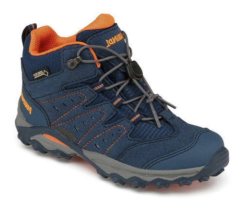 Meindl 2095-09 TUAM Junior GTX Schnürboot blau/orange