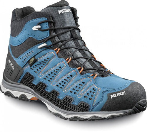 Meindl 3986-09 X-SO 70 Schnürboot Mid GTX blau/orange