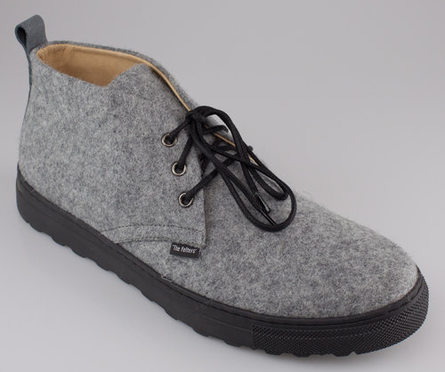 The Felters 00379 MENS WALKING Schnürboot grey