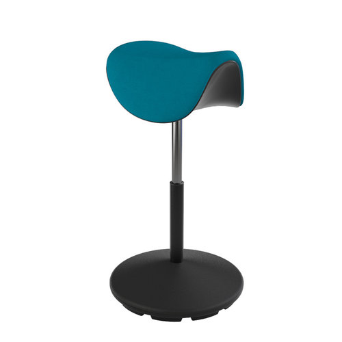 Varier MOTION Hocker Fame 67004 ocean, black medium lift