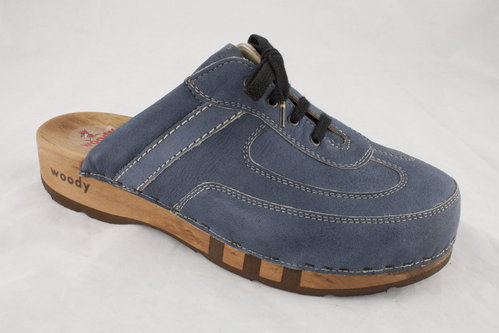 Woody 07950 ANTON Clogs navy