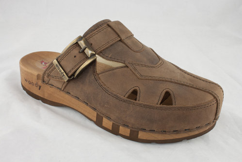 Woody 10020 FREDDY Clogs testa di moro