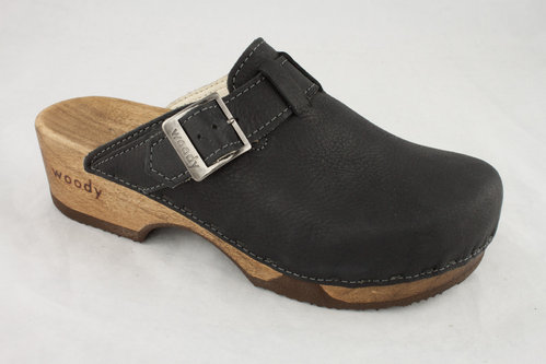Woody 6526 MANU Clogs nero
