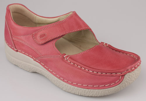 Wolky 6247-357 ROLL FEVER Spangenschuhe offen red-summer