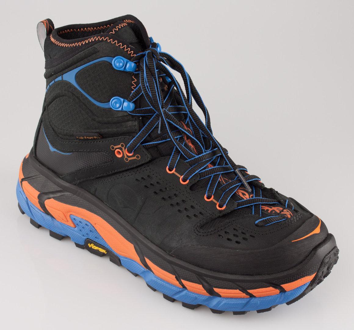 big sale 4c2b7 32b26 HOKA ONE ONE 1008334 TOR ULTRA HI WP trekking boots WP anthracite/orange  clownfish
