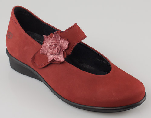 Loints 60813-0851 HEVEA G Klettballerina red earth