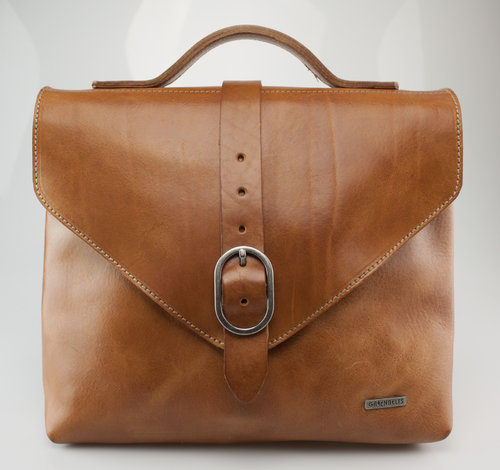 Greenbelts L1027 MAXIMA Tasche Sattelleder honey 29/26
