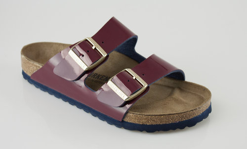 Birkenstock 1006668 ARIZONA normal Slipper Birkoflor wine/wine