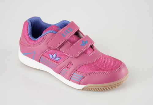 Lico 360508 ACTIVE INDOOR GIRL V Klettschuhe pink/lila