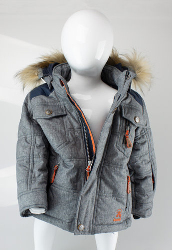 Kamik V6660 AXEL Winterjacke Polyester grey mix