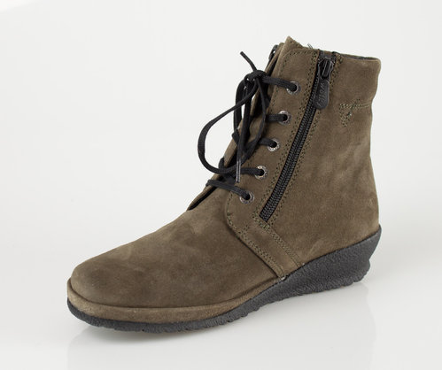 Wolky 0725640-155 BAKERSFIELD Schnürboots oiled suede dark taupe