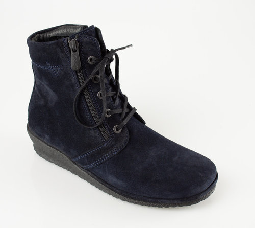 Wolky 0725640-800 BAKERSFIELD Schnürboots oiled suede blue