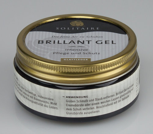 Solitaire 3309 BRILLANT Gel Tiegel schwarz 100 ml