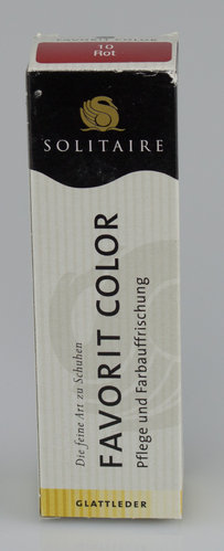 Solitaire FAVORIT COLOR Tube rot 50 ml