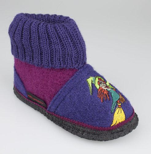Kitz Pichler BEN slippers boiled wool ruby