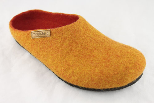 magicfelt AN 709-4807 Pantoffel orange
