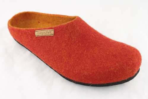 magicfelt AN 709-4808 Pantoffel red