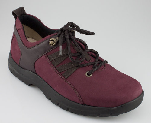 Hartjes 240303-87/10 CARE WALKING Schnürschuhe bordeaux/aubergine