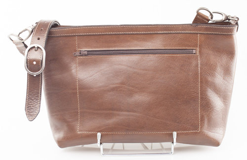 Greenbelts L10-21 NICOLE Tasche Vollrindleder brown A4 flat