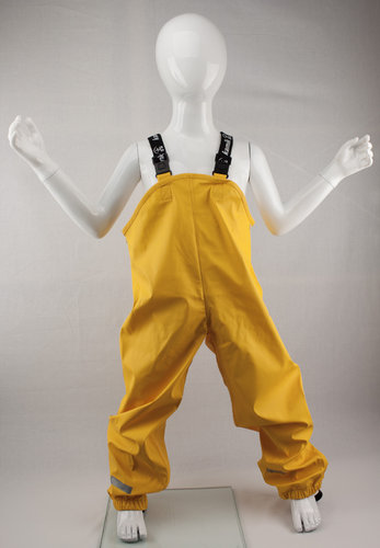 Kamik Wear PU Latzhose MUDDY yellow