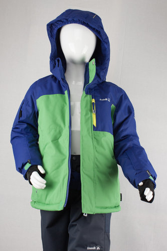 Kamik Wear Winterjacke VECTOR Boys green/blue