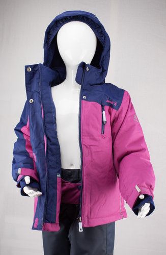 Kamik Wear Winterjacke COCO COLOUR BLOCK super hero pink/navy