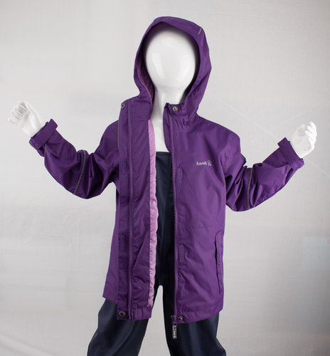 Kamik Wear Regenjacke 5000 purple