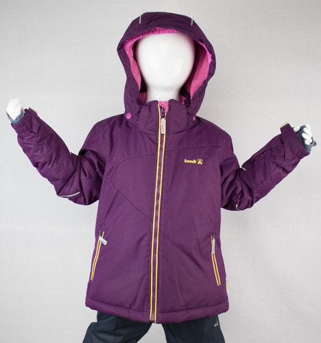 Kamik Wear Winterjacke ARIA dark purple