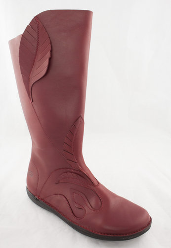 Loints 68467-0370 NATURAL Stiefel Blätter red