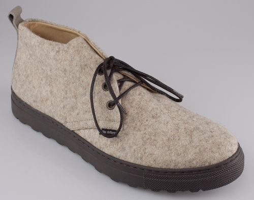The Felters 00378 MENS WALKING Schnürboot light brown