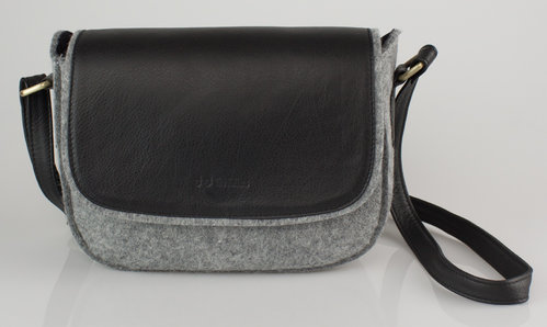 The Felters 00380 CROSSBODY CLASSIC Schultertasche grey