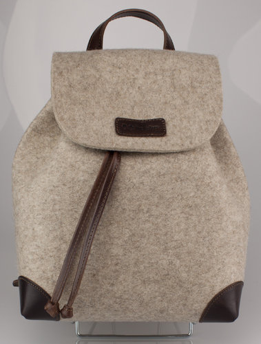 The Felters TF-008 BACK PACK Rucksack light brown