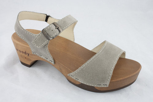 Woody MELISSA Sandalen taupe