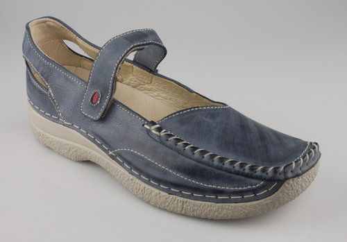 Wolky 6272-287 SEAMY-LADY Spangenschuhe blue-summer tucson