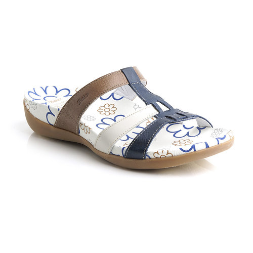 Batz MARA Slipper blau-mix