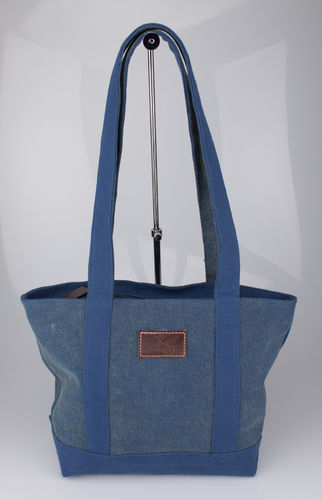 SHOPPER Lindwurm Tasche Canvas jeans