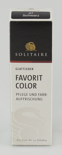 Solitaire FAVORIT COLOR Tube schwarz 50 ml
