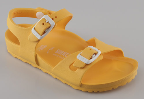 Birkenstock 1003538 RIO KIDS schmal Slipper EVA yellow