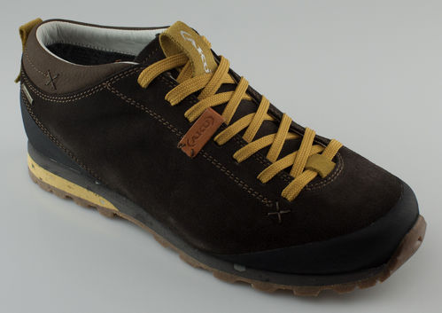 AKU 504-305 BELLAMONT SUEDE GTX Schnürschuhe brown-yellow