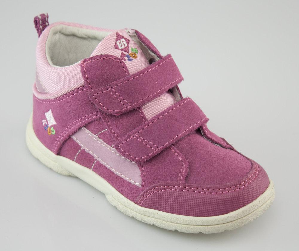 finest selection 57b50 0a4dd Brütting 661071 SPOOKY V velcro shoes pink/pink