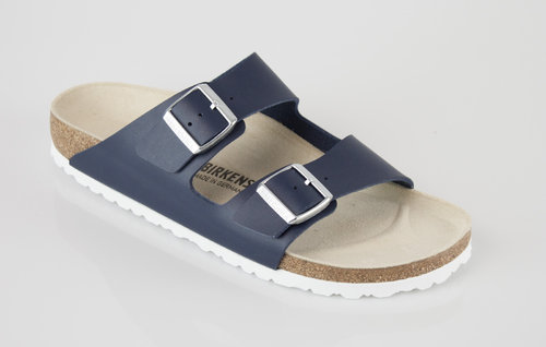 Birkenstock 1006151 ARIZONA schmal Slipper Birkoflor blue